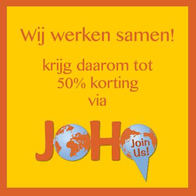 Bezoek de site van Joho en word lid.